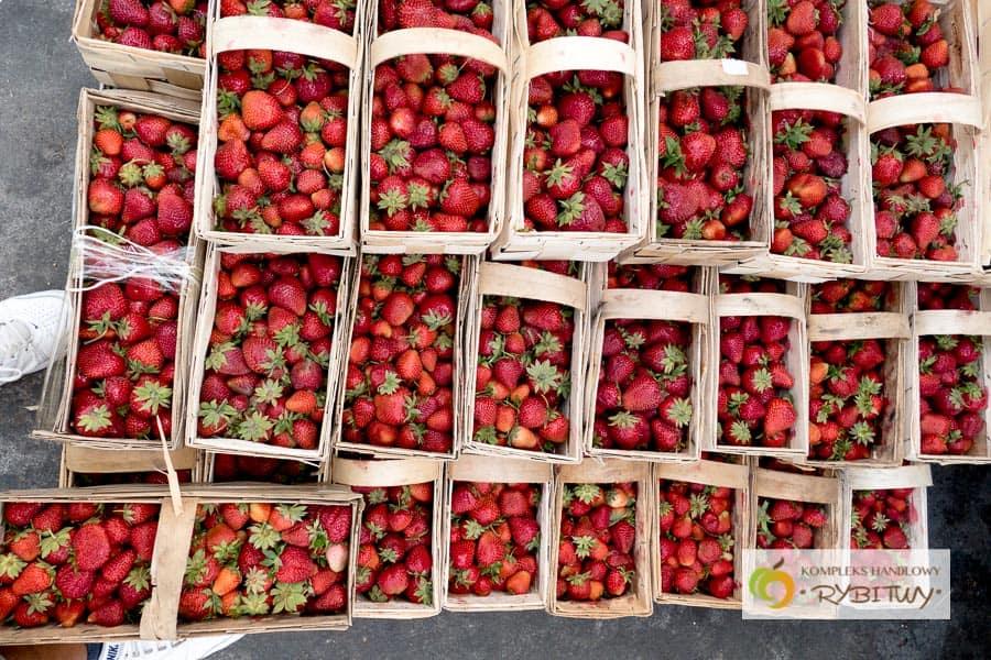 Sezon truskawkowy na Rybitwach rozpoczęty