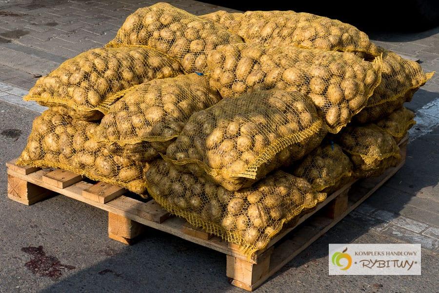 uwaga - przypominamy o obowiązku oznaczenia produktów - ziemniaki