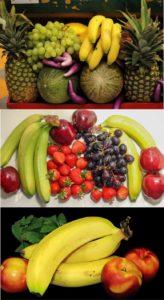 Banany i inne owoce cytrusowe dostępne na khrybitwy