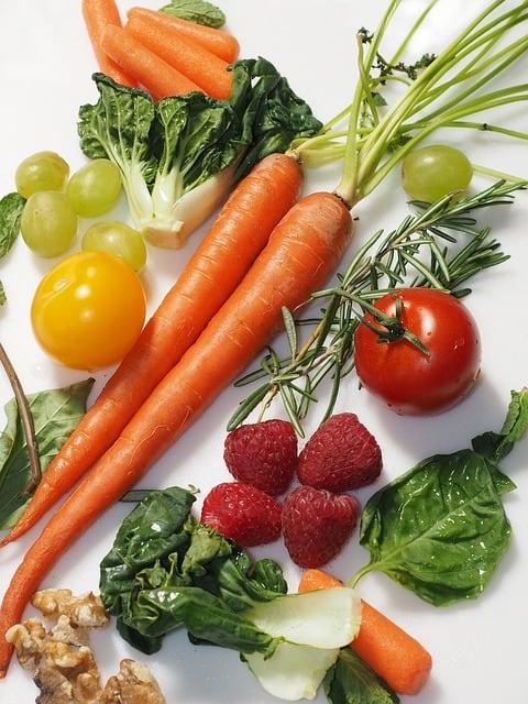 Owoce i warzywa alternatywa dla suplementów zdrowej diety