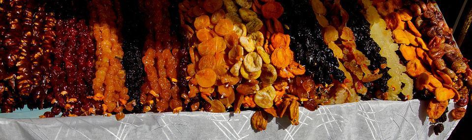 Bakalie - suszone owoce źródłem witamin i aromatu