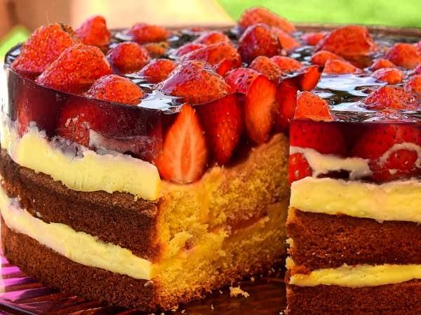 Ciasta i torty z truskawkami_khrybitwy_pl