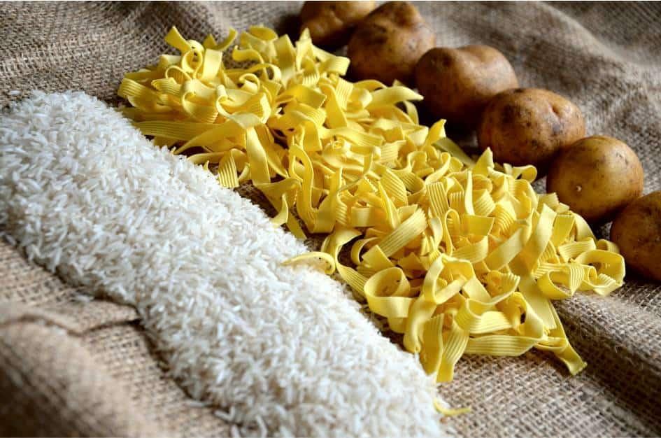 Ryż, kasza. makarony to podstawowe uzupełniacze naszej diety