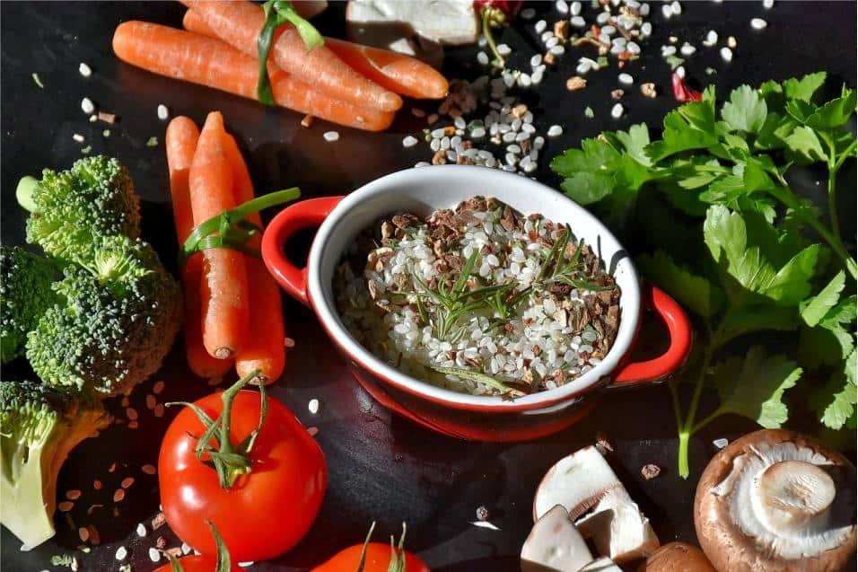 Ryż warzywa w polskiej kuchni - kupisz na Rybitwach