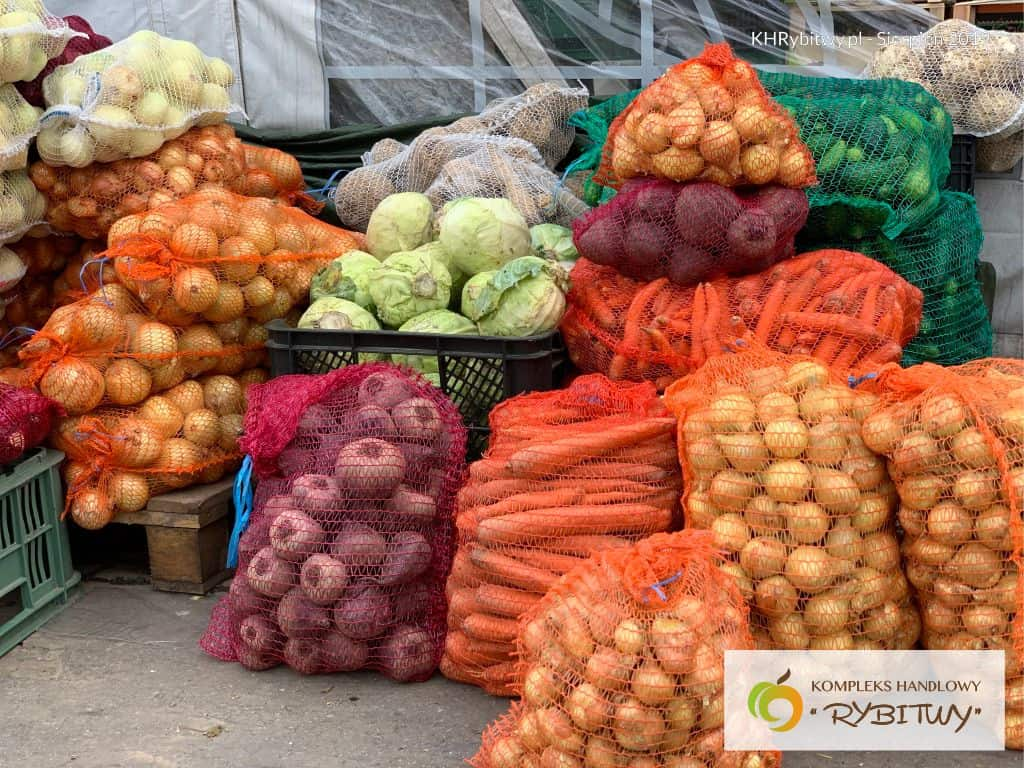 warzywa i owoce w ofercie khrybitwy
